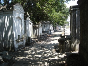 Sunlight and the cemeteries