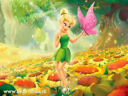tinkerbell wth butterfly
